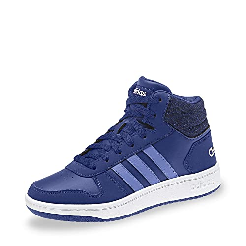 88f7354f295 adidas Kids Boots Shoes Hoops Mid 2 Sporty Sneaker Girls Boys Fashion New  B75748 (EU