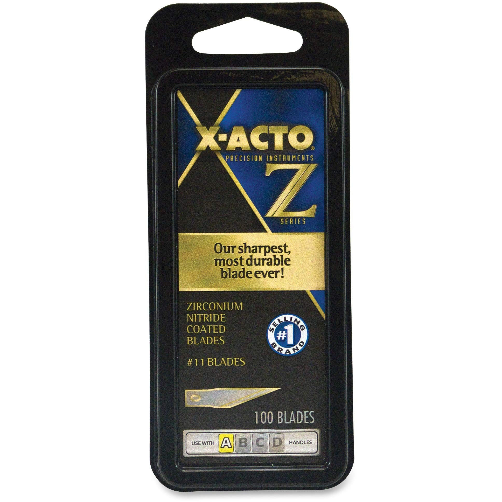 X-ACTO XZ611 100 Pc. Classic Fine Point Blade by X-Acto