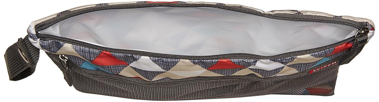 Grey Skip Hop Grab and Go Wet//Dry Bag Chevron