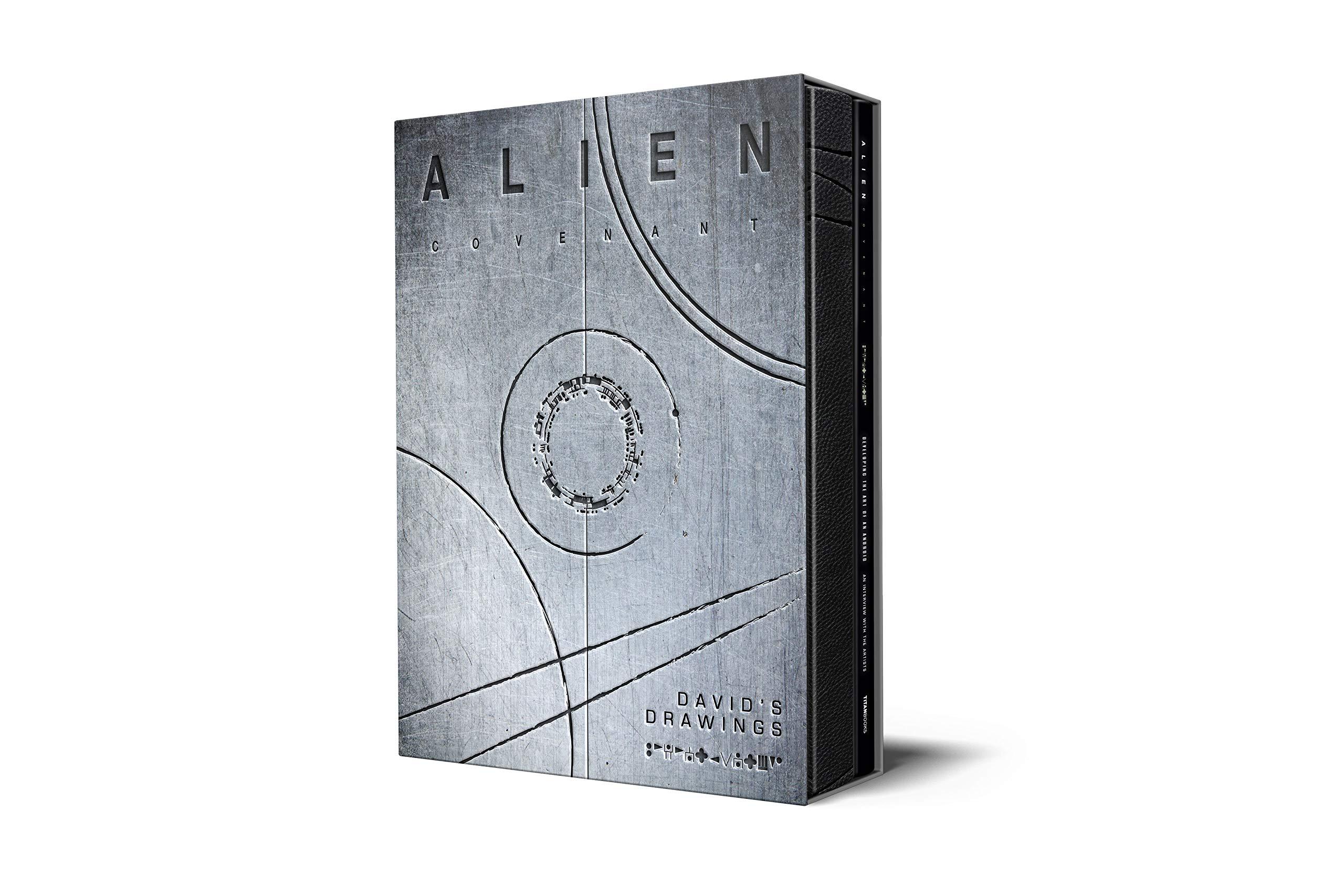 Alien Covenant  David's Drawings