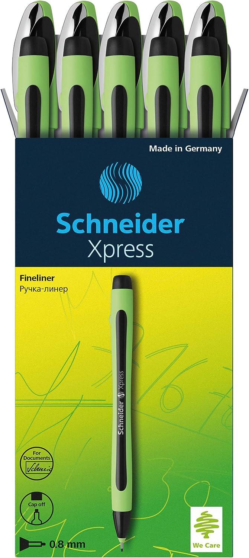 Schneider 190008 Fineliner Xpress Lot de 10 stylos /à pointe fine Violet