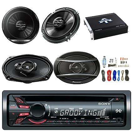 amazon com sony xplod cdx gt320mp cd receiver w 52x4w amp w sony xplod  cdx-