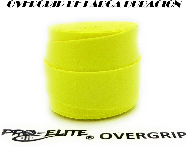 overgrip Pro Elite Premium Perforado Amarillo Flúor