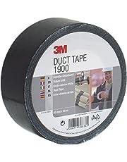 3M 1900S50 Value Duct Tape, 50 mm x 50 m, Black