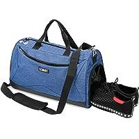 SZSMART Bolsas de Deporte con Compartimento Zapatos, Bolsa