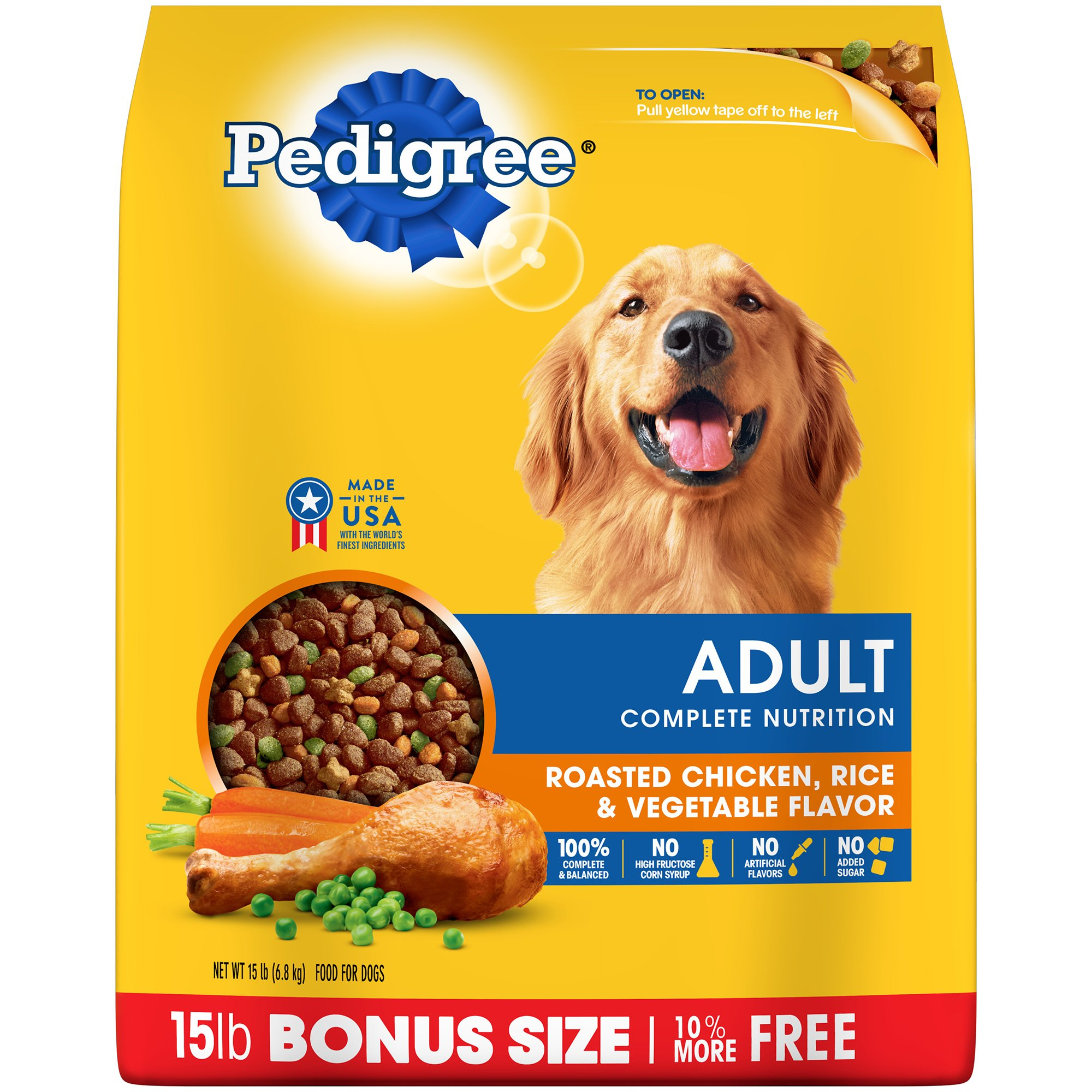 PEDIGREE Complete Nutrition Adult Dry Dog Food Bonus Bags Standard Packaging