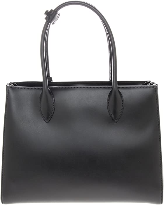 c292c8c843c5 Prada Women's Bibliotheque Bag Calf Leather Back. Back. Double-tap to zoom