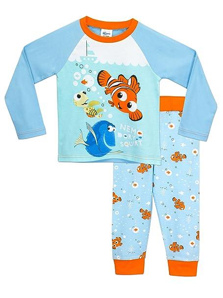 Buscando a Nemo - Pijama para Niños - Disney Finding Nemo - 3 - 4 Años