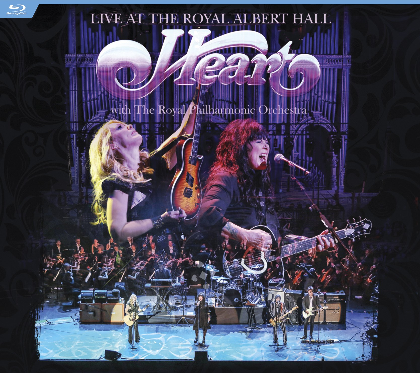 Blu-ray : Heart - Live At The Royal Albert Hall With Royal Philharmonic Orchestra (Blu-ray)