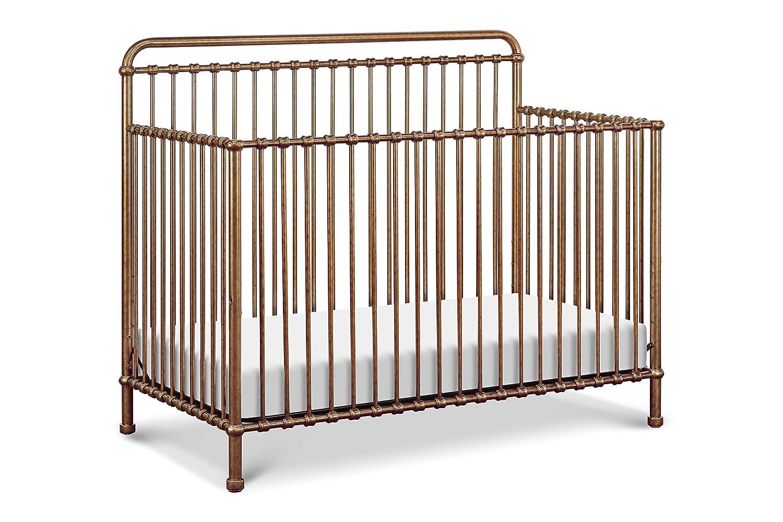 Vintage Iron Million Dollar Baby Classic Winston 4-in-1 Convertible Iron Crib