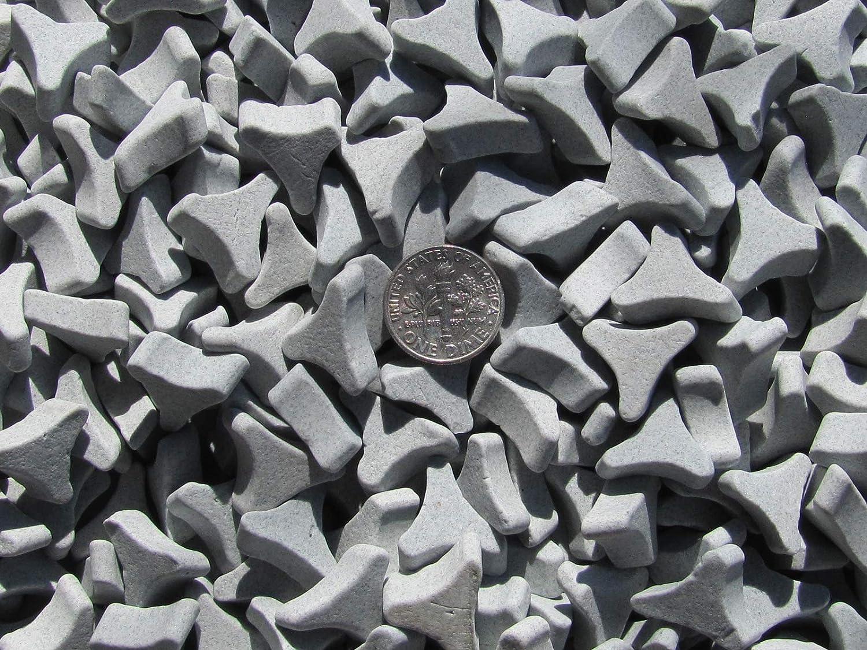 1 Lb 5//8 X 1//4 Angle Cut TriStar Abrasive Triangle Ceramic Tumbling Tumbler Tumble Media M General Purpose