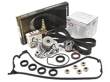 Evergreen tbk224mvcn2 96 – 00 Honda Civic D16Y7 D16Y8 Kit de Correa de distribución y tapa