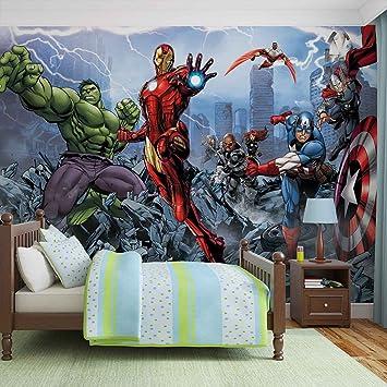 Papier Peint Photo Mural 960p8 Collection Marvel Avengers Xxl