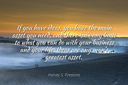 Amazoncom Harvey S Firestone Famous Quotes Laminated Poster
