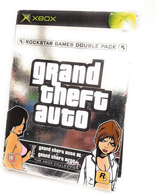 GTA III + GTA : Vice City Occasion [ Xbox ]: Amazon.es: Videojuegos