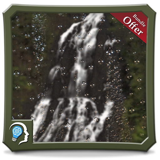 Rainy Waterfall HD - Relax your self with peaceful rainy scene - for Fire Devices, TV & Stick