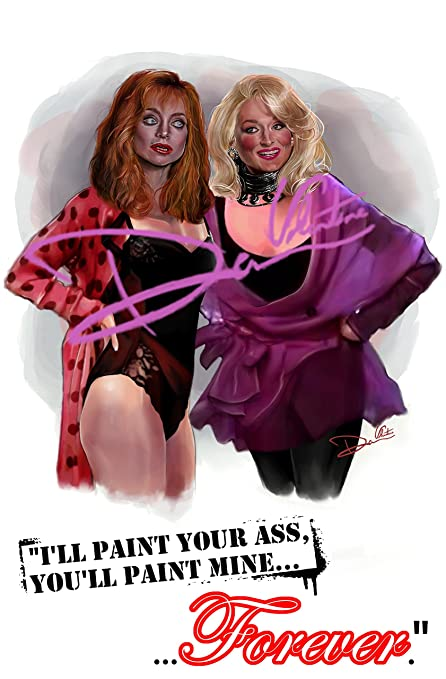 Meryl Streep Goldie Hawn Death Becomes Her Original Painting Poster Gorgeous Death Becomes Her Quotes