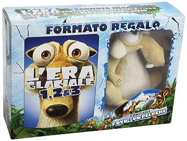 LEra Glaciale - La Trilogia (3 Dvd+Peluche Scrat) [Italian