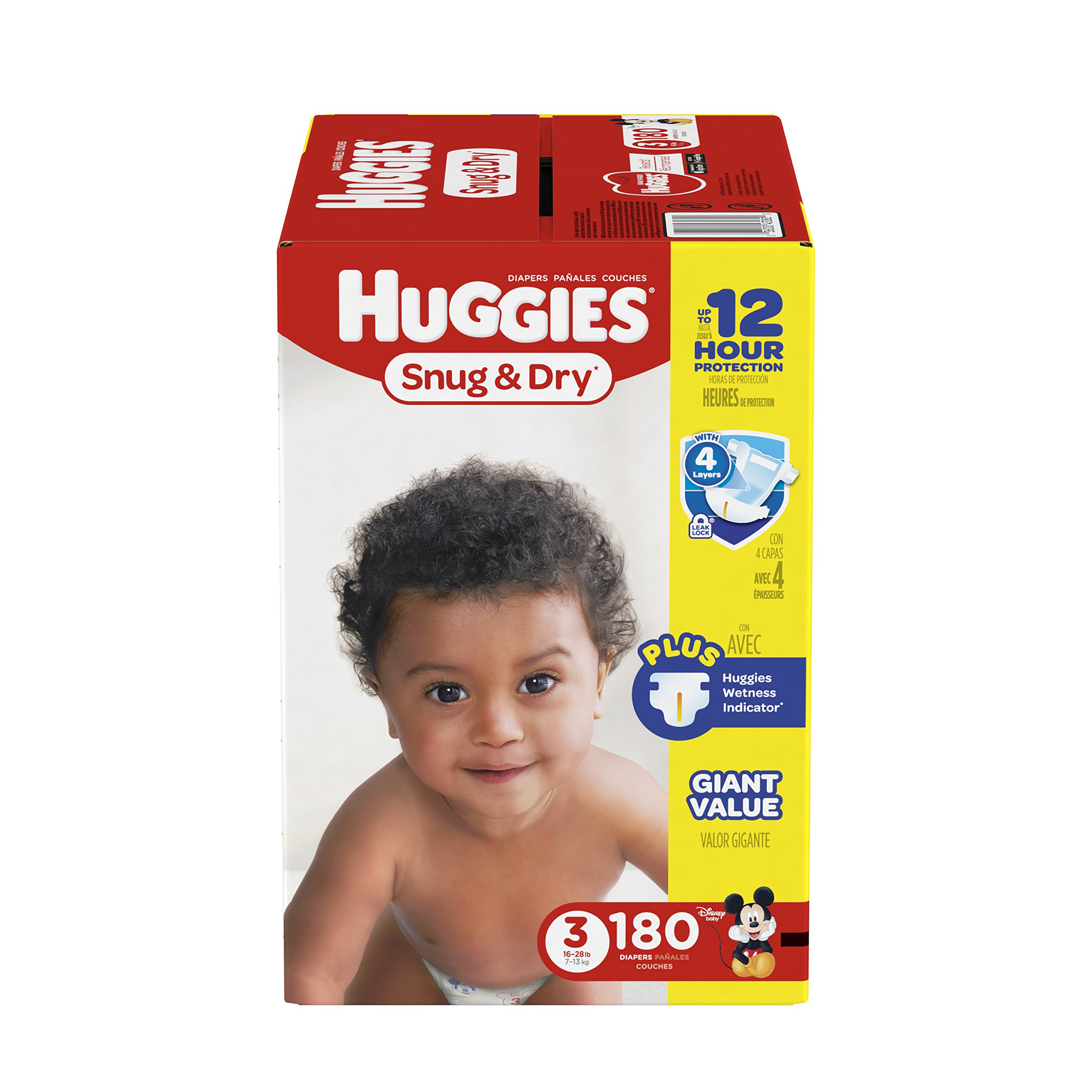 Amazon Com Huggies Snug Amp Dry Diapers Size 2 104 Count