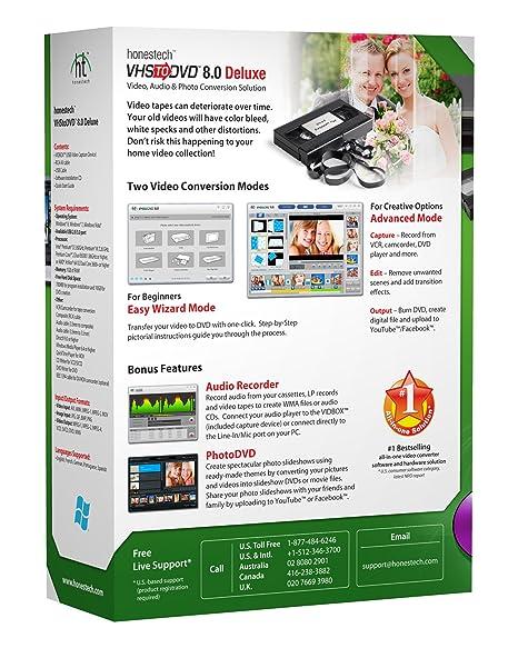 9fcab8a3fefe4 Amazon.com  VIDBOX VHS to DVD 8.0 Deluxe
