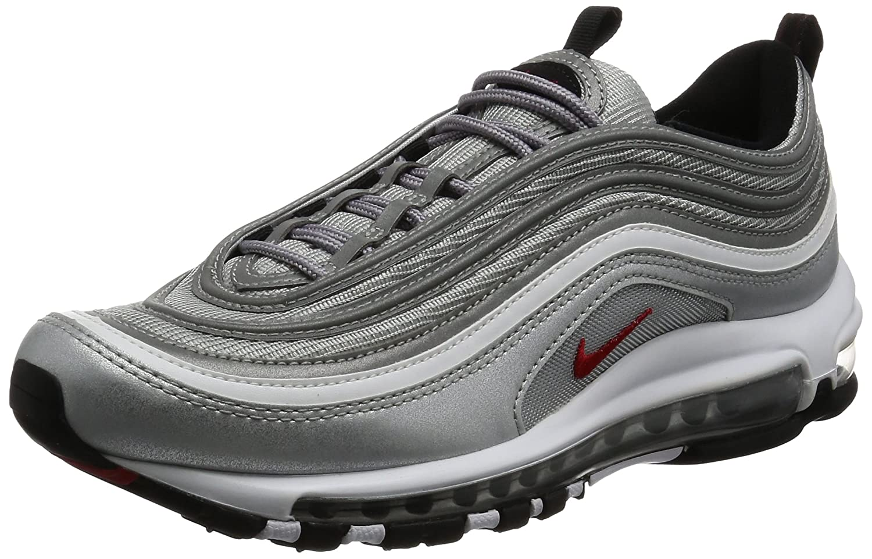 info for a5d7d eb627 Nike Air Max 97 OG QS Schuhe Sneaker Neu 45 EU Silber (Metallic Silver Varsity  Red Black White) - sommerprogramme.de