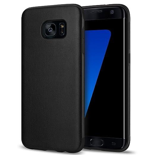 21 opinioni per TENDLIN Cover Samsung Galaxy S7 Edge Pelle Ibrida Silicone TPU Flessibile