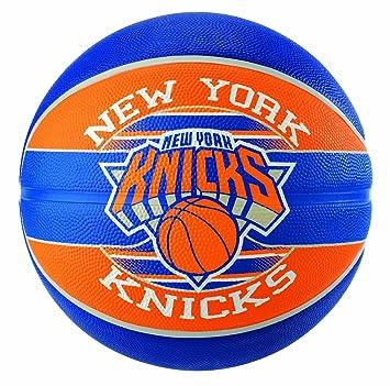 Spalding NBA Team NY Knicks 83-509Z Balón de Baloncesto, Unisex, 7 ...