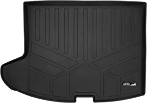 MAXLINER All Weather Cargo Liner Floor Mat Black for 2007-2017 Jeep Patriot/Compass (Old Body Style)
