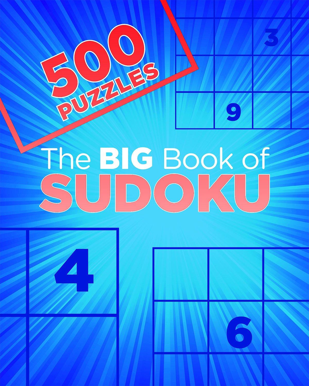 Big Book Sudoku 500 Puzzles product image
