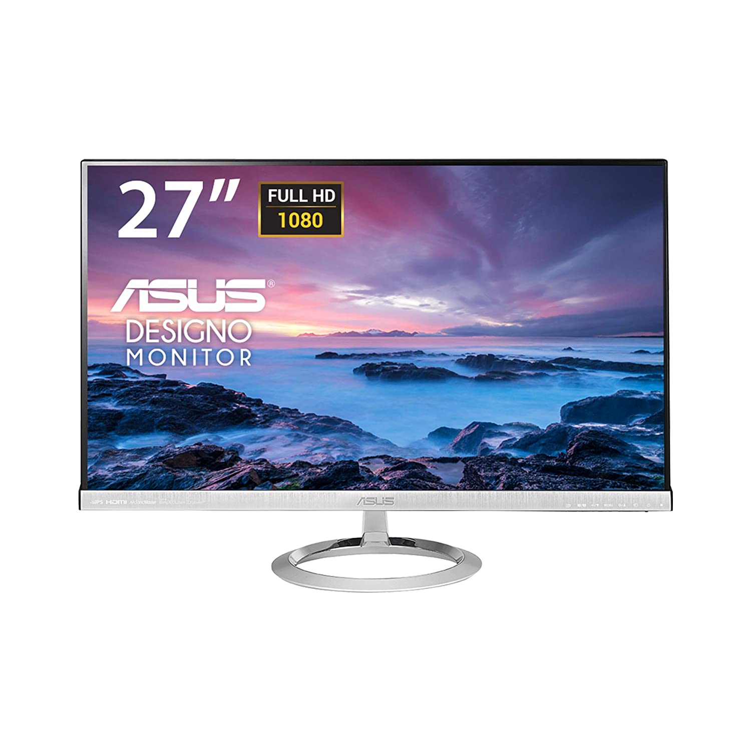 "ASUS Designo MX279H 27"" Full HD (1920 x 1080) IPS HDMI VGA Eye Care Monitor"