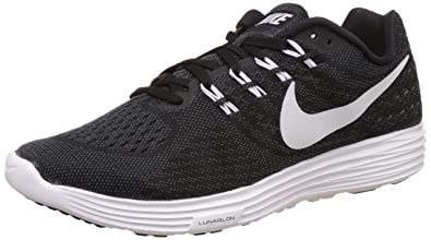 pretty nice b15d2 b49bb ... denmark nike mens lunartempo 2 black white and anthracite running shoes  7 uk india 41803 bc6c6
