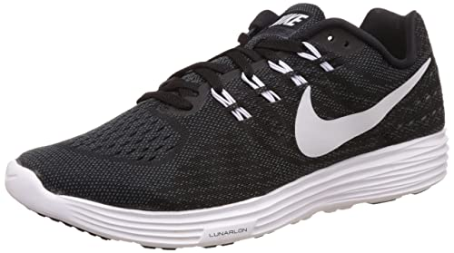 half off 295ae e5805 Nike Men s Lunartempo 2 Black, White and Anthracite Running Shoes -10  UK India