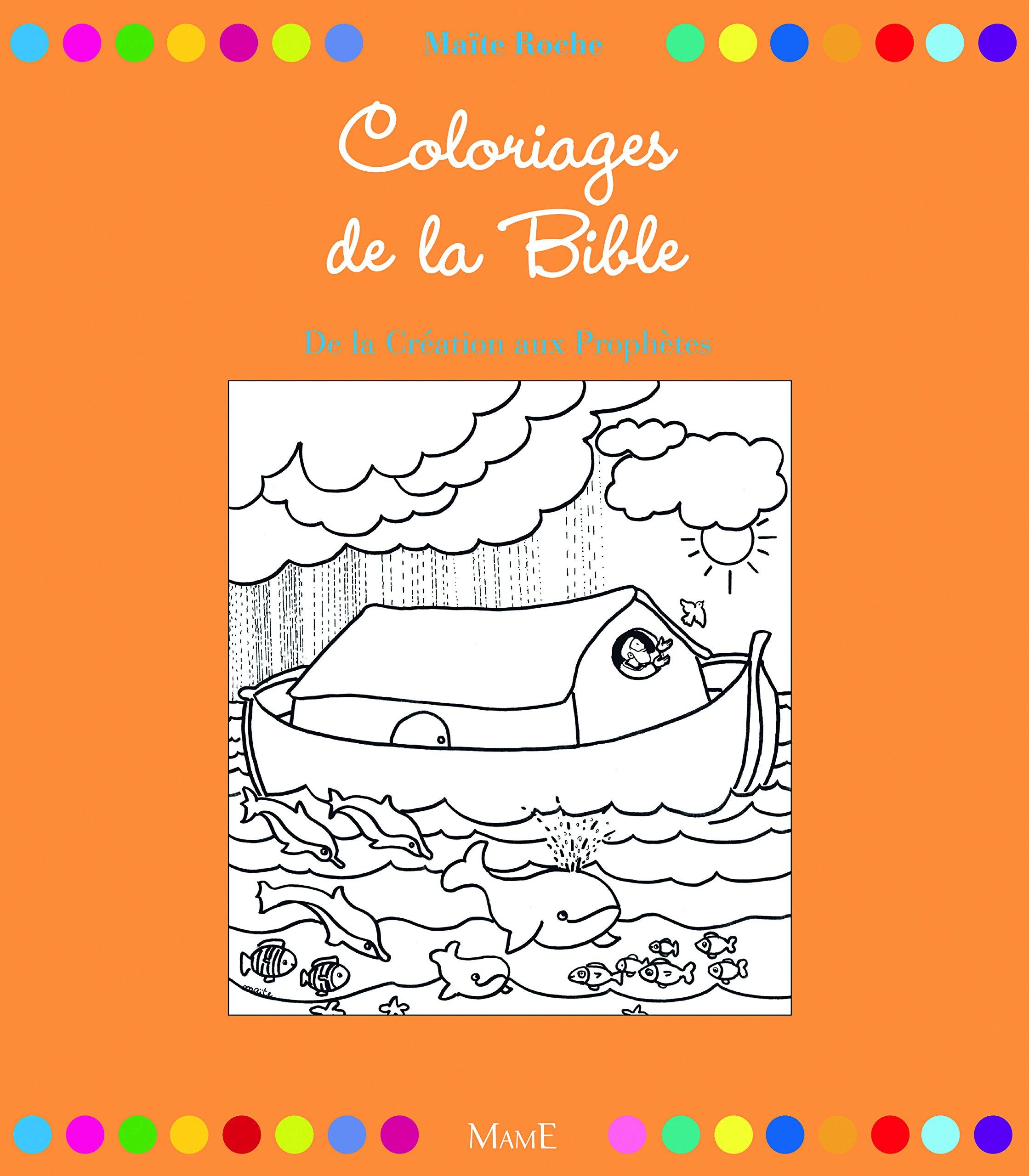 32 coloriages de la Bible. De la création aux prophètes Broché – 17 mars 2011 Maïte Roche MAME 2362360024 9782362360022_PROL_US