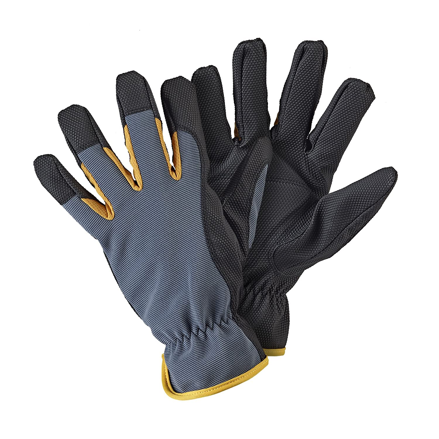 Briers Advanced Cut-Resistant Gloves, Yellow/Black, Large Briers Ltd B6422