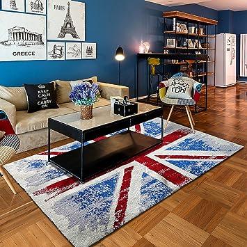 Amazonde Teppich Für Wohnzimmer Teetisch Und Sofateppichteppich