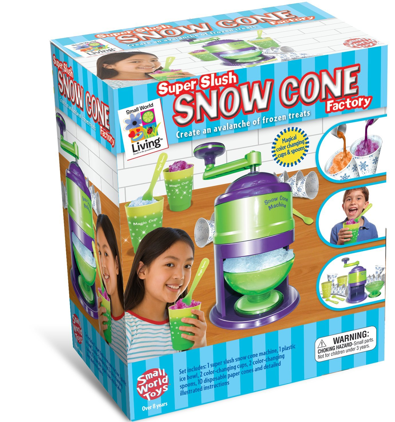Small World Toys Living - Super Slush Snow Cone Factory by Small World Toys