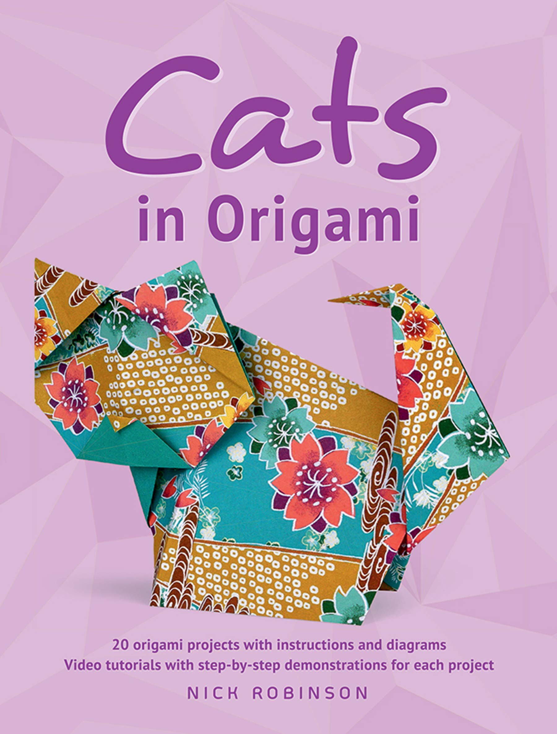 Easy cat bookmark Page 08 | Origami easy, Origami cat, Kids origami | 2372x1800