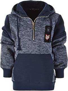 BEZIT Jungen Hoodie Kapuzen Pullover 22881