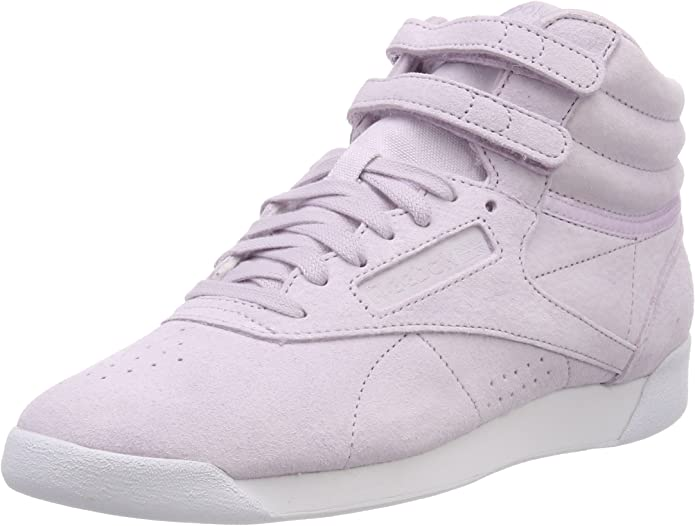 Reebok Freestyle Hi Sneakers High Top Damen Schuhe Elfenbein
