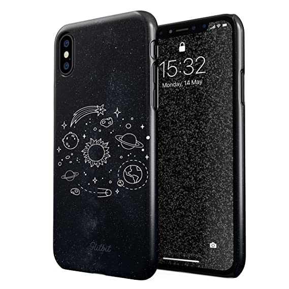 more photos cf26a c4514 Amazon.com: Glitbit Compatible with iPhone X, iPhone Xs Case Cute ...