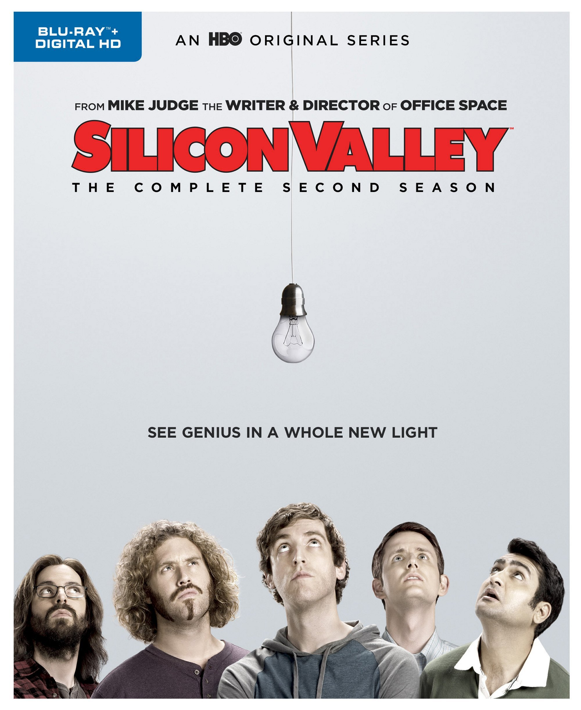 Blu-ray : Silicon Valley: The Complete Second Season (Full Frame, Eco Amaray Case, Dolby, 2 Pack, Digitally Mastered in HD)
