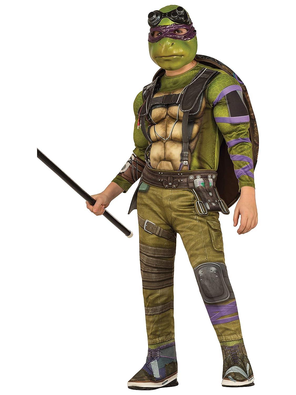 Teenage Mutant Ninja Turtles Movie Deluxe Donatello Costume, S (4-6)