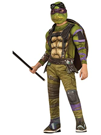 Teenage Mutant Ninja Turtles Movie Deluxe Donatello Costume, S (4-6)