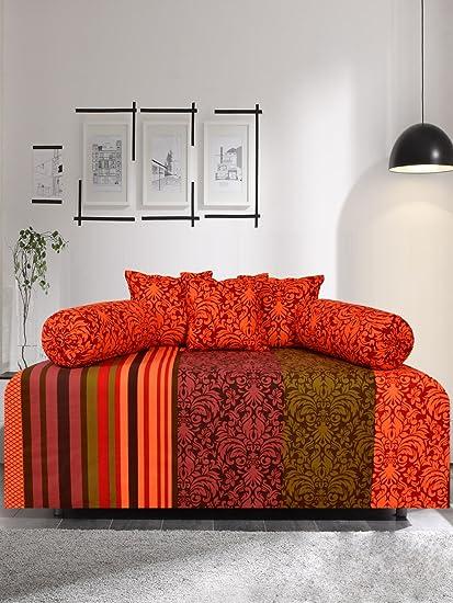 Salona Bichona 100% Cotton Proshin Diwan Set of 6 pcs.
