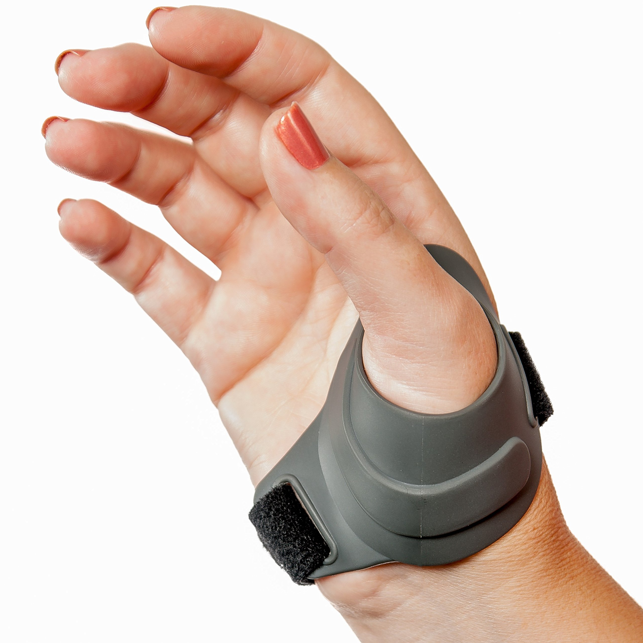 CMCcare Thumb Brace - Durable, Waterproof Brace for Thumb Arthritis Pain Relief, Right Hand, Size Large by Basko Healthcare