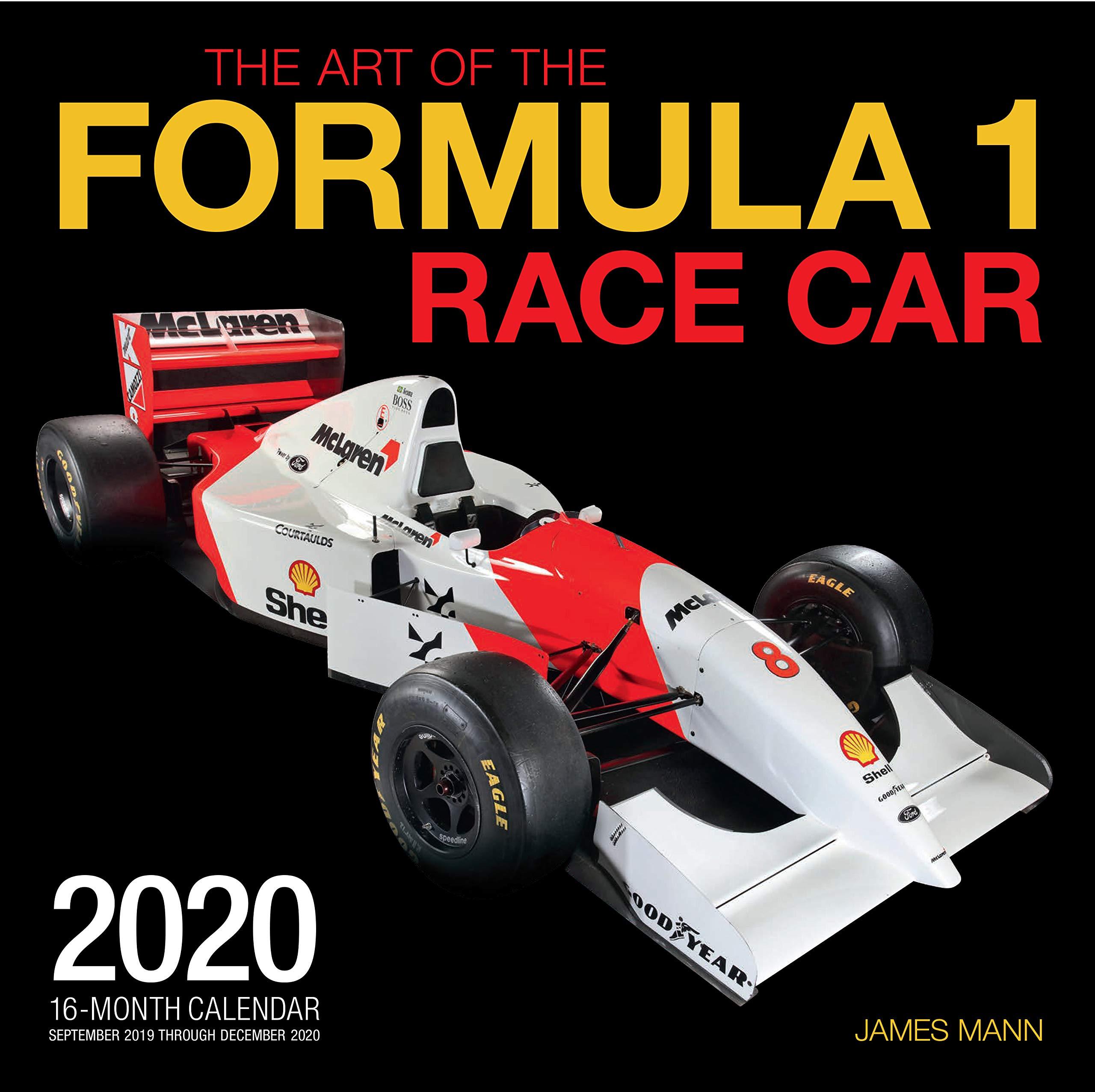 Amazon Com The Art Of The Formula 1 Race Car 2020 16 Month Calendar September 2019 Through December 2020 9780760365427 Editors Of Motorbooks Mann James Books