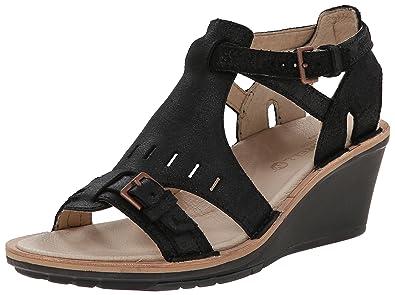 Various Styles Merrell Revalli Aura Strap Sandals Black UYY2707fsl80P