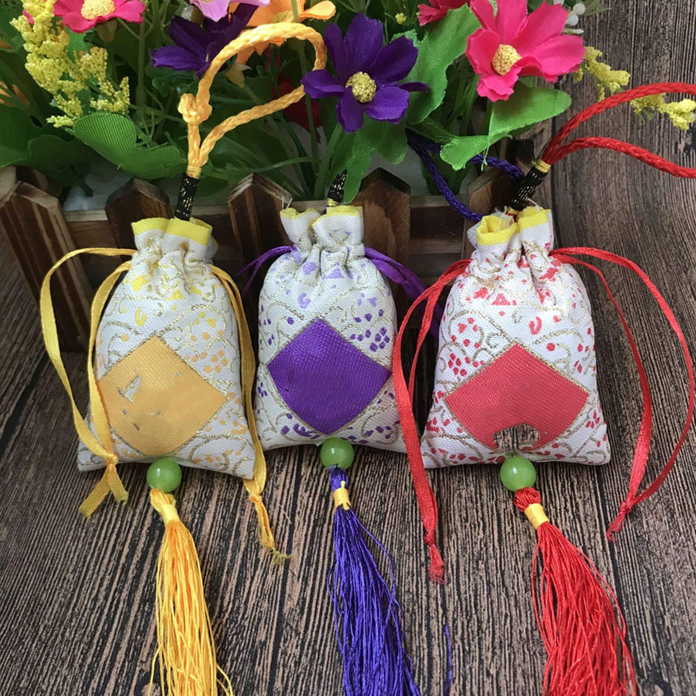Flamingogogo Anti-Mildew Aromatherapy Bag Air Freshener Scented Sachets Natural Fragrance for Car Home Decor Aromatic Bag,Jasmine by Flamingogogo (Image #4)