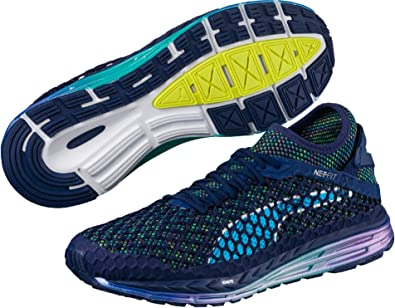 PUMA Speed Ignite Netfit Champs - Zapatillas de Running para Hombre, Color Azul, Azul, 10,5 UK: Amazon.es: Deportes y aire libre
