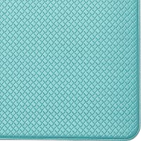 """Color&Geometry Kitchen Rug Non Skid Waterproof Kitchen mats Cushioned Anti Fatigue Standing Mat 59""""X18"""" Green"""